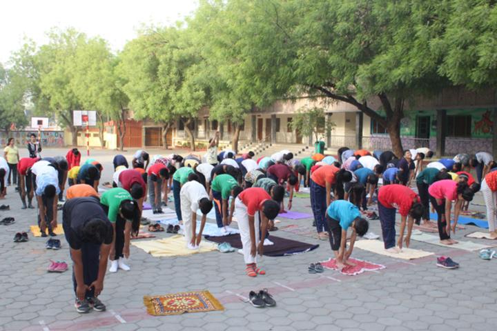 C K C Academy-Yoga Day