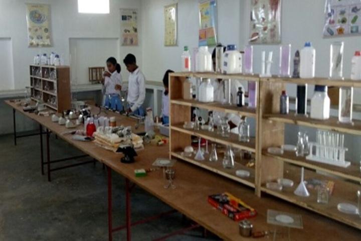 C M G Publice School-Science Lab