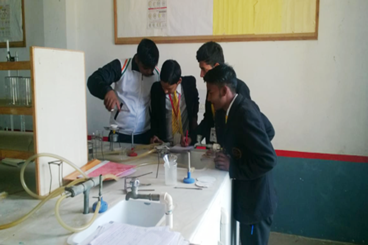 C V International School-Chemistry Lab