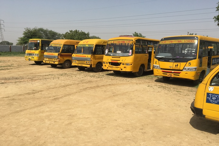 C V International School-School Buses