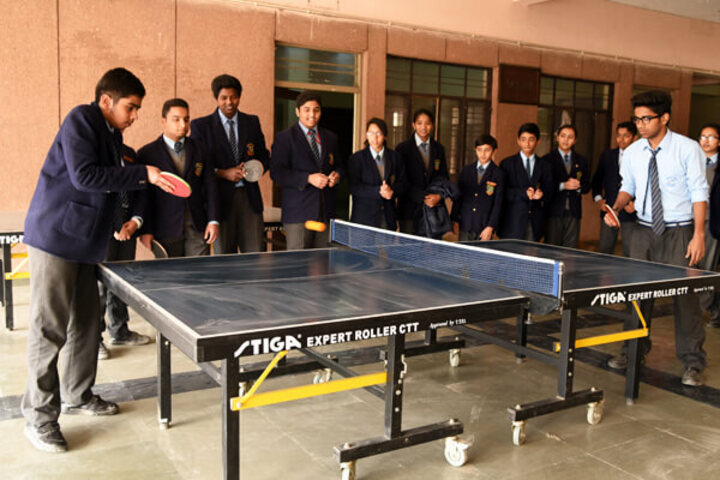 Cambridge School-Table Tennis