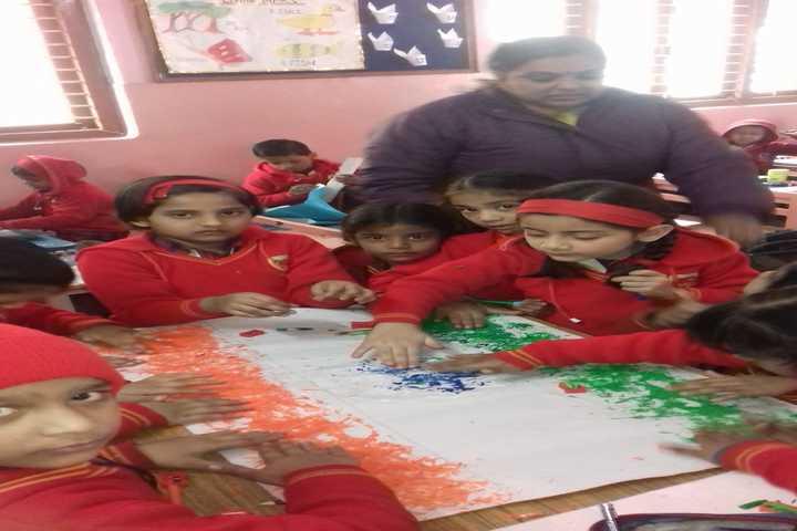 Canossa School-Art Activity