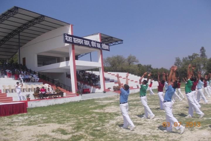 Captain Manoj Kumar Pandey-Sports Staduim
