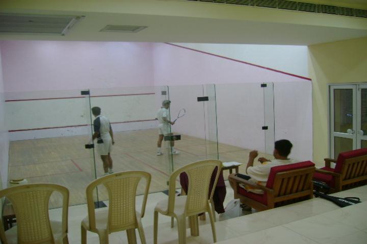 Captain Manoj Kumar Pandey-Squash Court