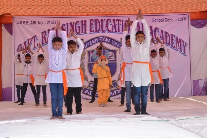 Captain Ramsingh Education Academy Vidhyalaya-Event