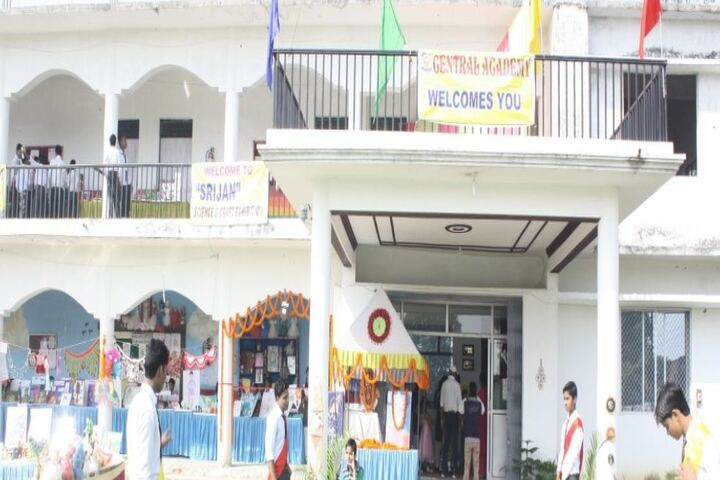 Central Academy-School Entrance