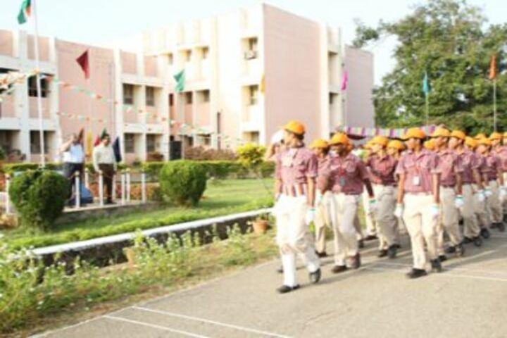 D A V Centenary Public School-March Past