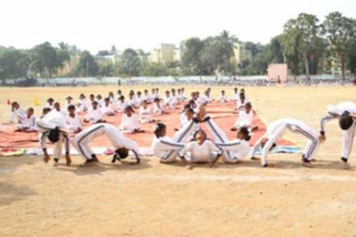 D A V Centenary Public School-Yoga