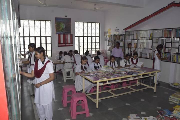 Central Academy Senior Secondary School-Library