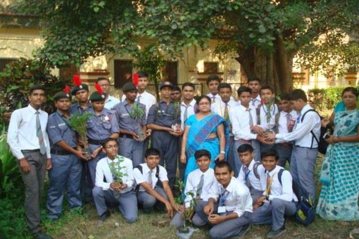 Central Hindu Boys Senior Secondary School-Tree Plantation
