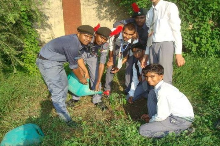 Central Hindu Boys Senior Secondary School-Environment Day