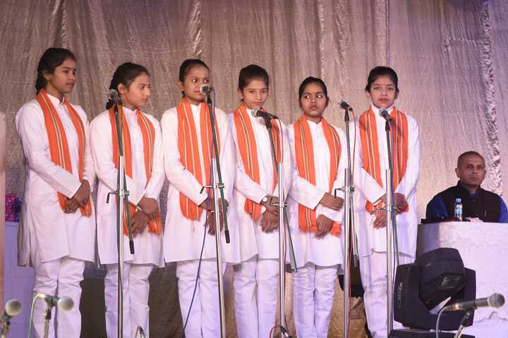 CENTRAL HINDU GIRLS SR SEC SCHOOL-singing