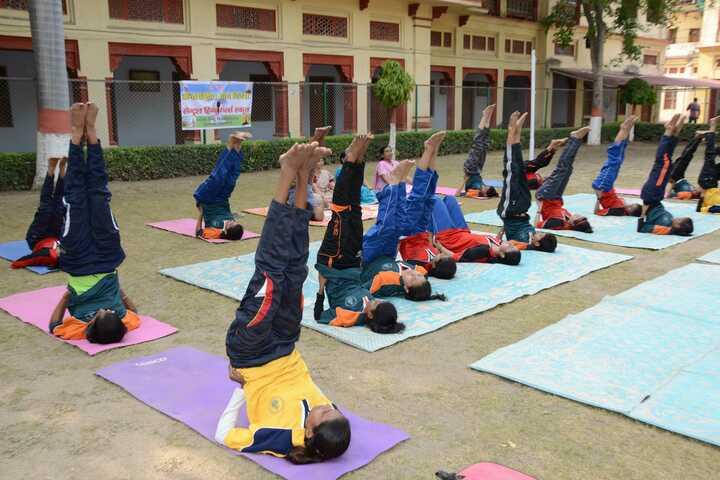 CENTRAL HINDU GIRLS SR SEC SCHOOL-yoga