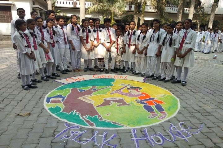 Central Public Academy-Rangoli Competition