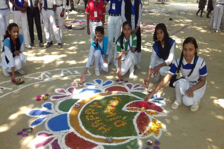 Central Public School-Rangoli