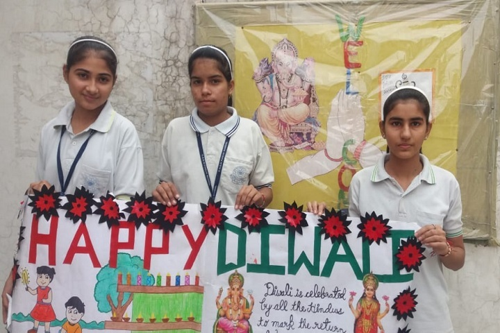 Ch Ajab Singh Memorial Public School-Diwali Celebrations
