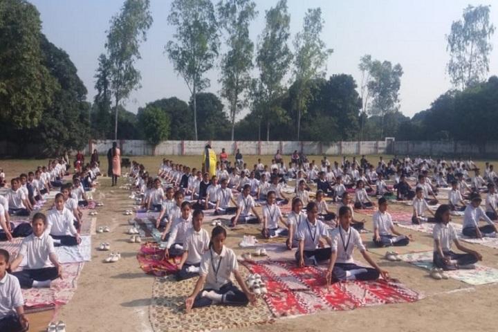 Ch Ajab Singh Memorial Public School-Yoga