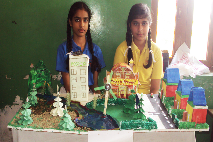 Chandavan Public School-Science Exhibition