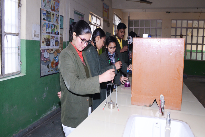 Chandavan Public School-Physics Lab