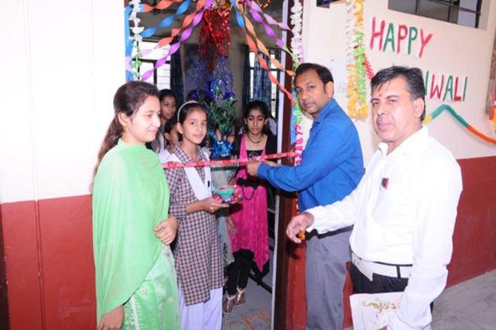 Chander sain convent Academy-Diwali
