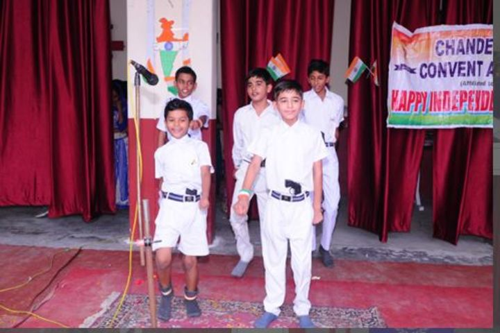 Chander sain convent Academy-Independence Day