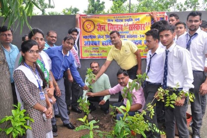 Chander sain convent Academy-Tree Plantation