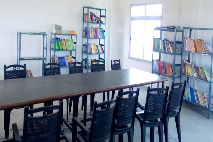 Library View of Chandra Bhan International Academy