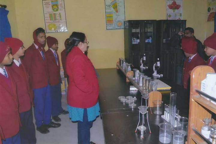 Chandrej Singh Childrens Academy-Biology Lab