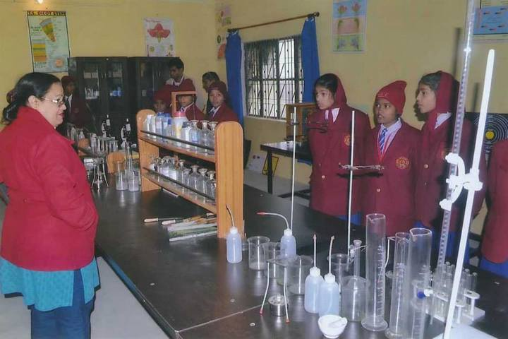 Chandrej Singh Childrens Academy-Chemistry Lab