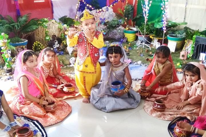 Cheena Public School-Festival Celebration