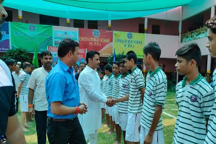 Cheena Public School-Sports Team