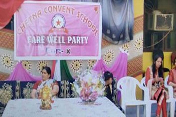 Chetna Convent Junior High School-Farewell Party