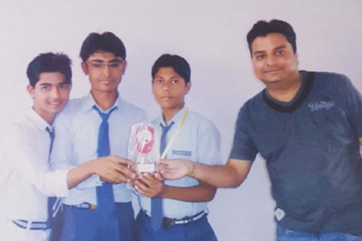 Chetna Convent Junior High School-Prize Distribution