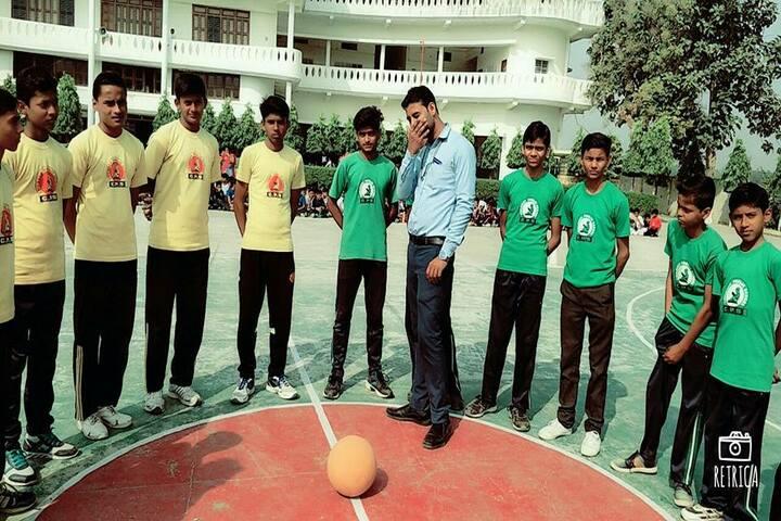 Children Public Sr Sec School-Basket Ball