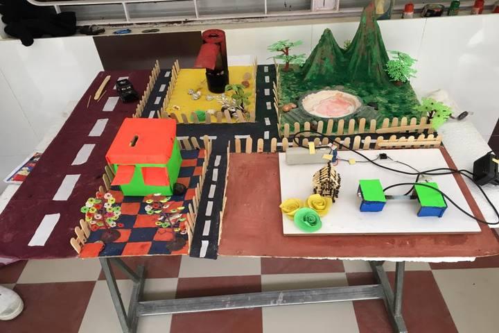 Children School-School Exhibition