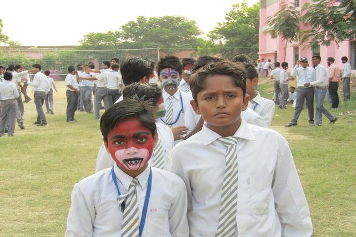 Christ Convent School Rath-Face Painting