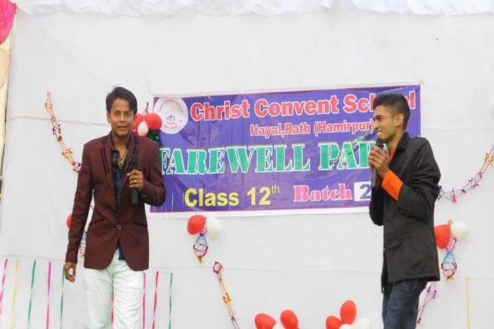 Christ Convent School Rath-Farewell