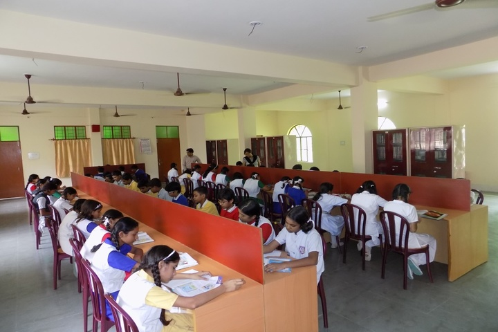 Christ Jyoti Convent School-Library