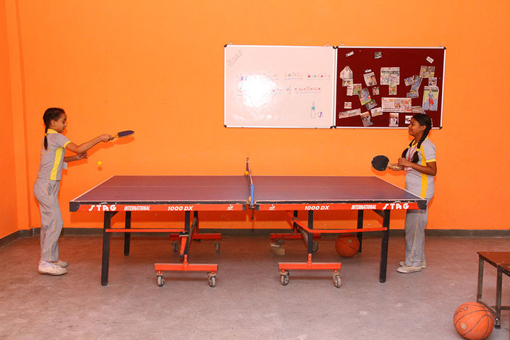 City Convent School-Table Tennis