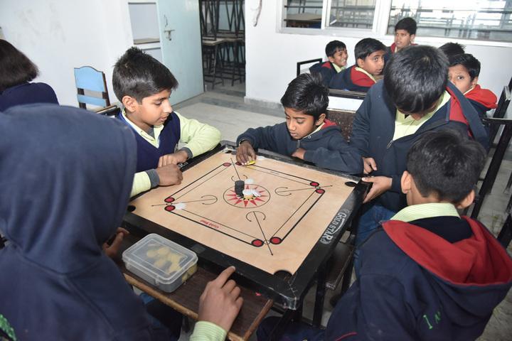 City International School-Carroms