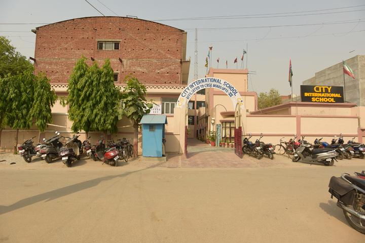 City International School-Entrance
