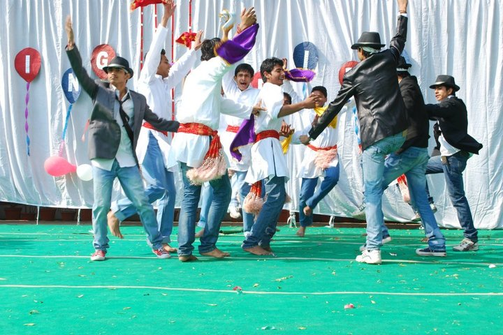 City Vocational Public School-Dancing Activity