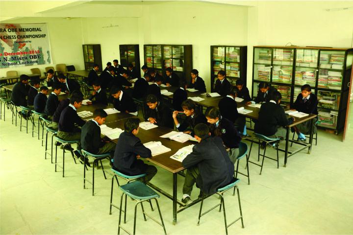 Colonel S N Mishra Obe Memorial School-Library