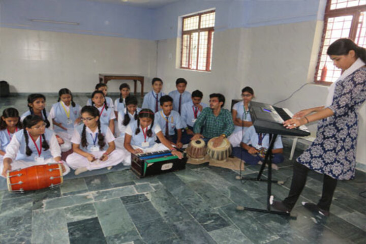 ColonelS Brightland Public School-Music Room