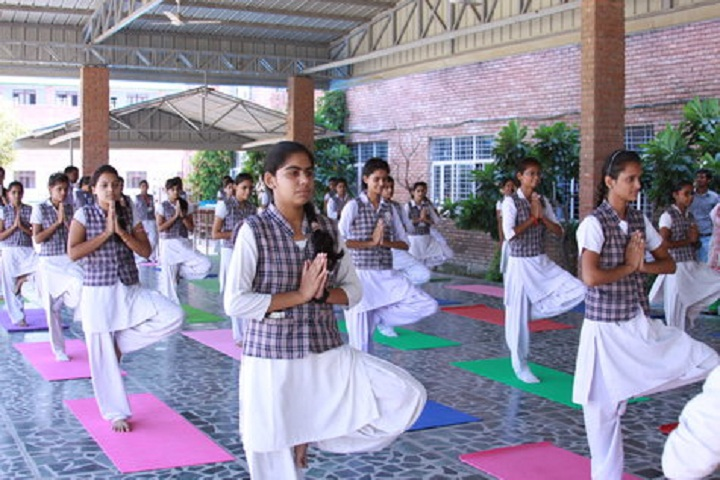 ColonelS Brightland Public School-Yoga