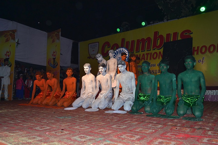 Columbus International School-Skit