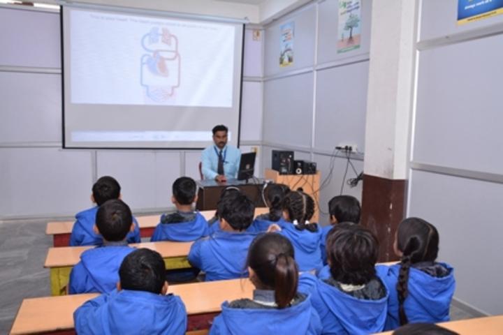 Creative Convent College-Smart Class