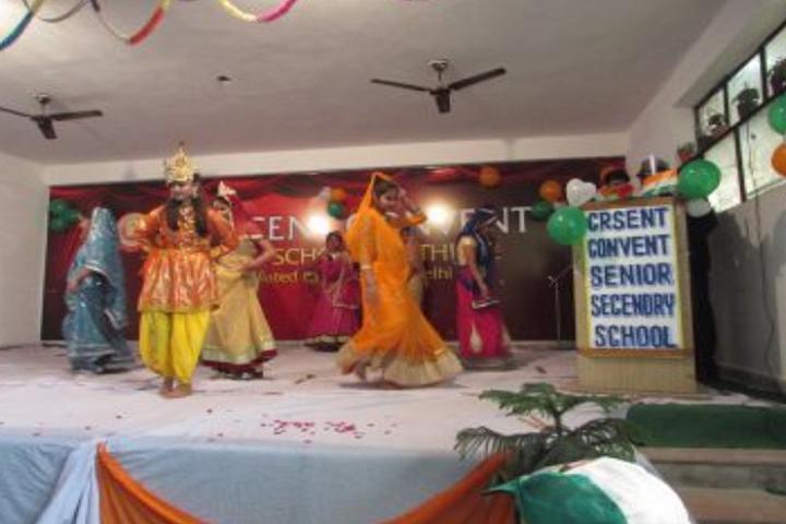 Crescent Convent Senior Secondary School-Dancing Activity