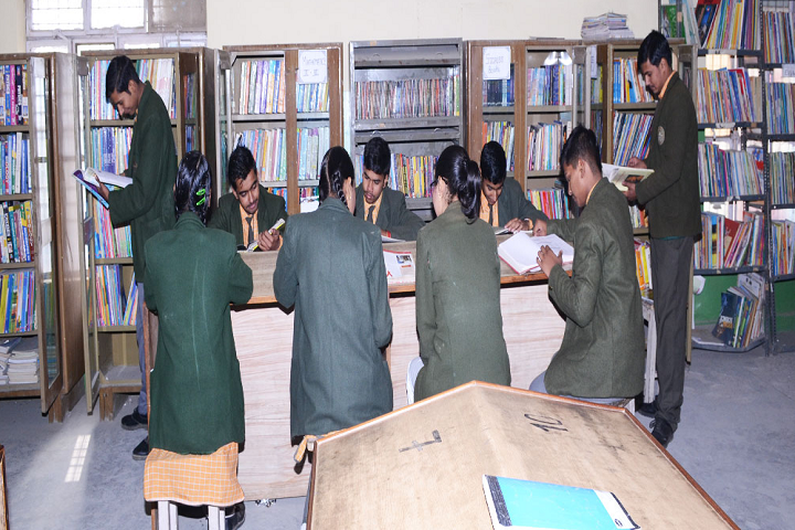 Crescent Convent Senior Secondary School-Library