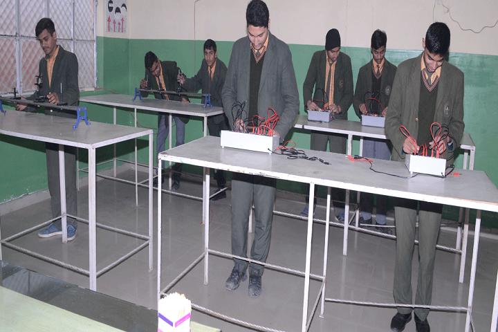 Crescent Convent Senior Secondary School-Physics Lab